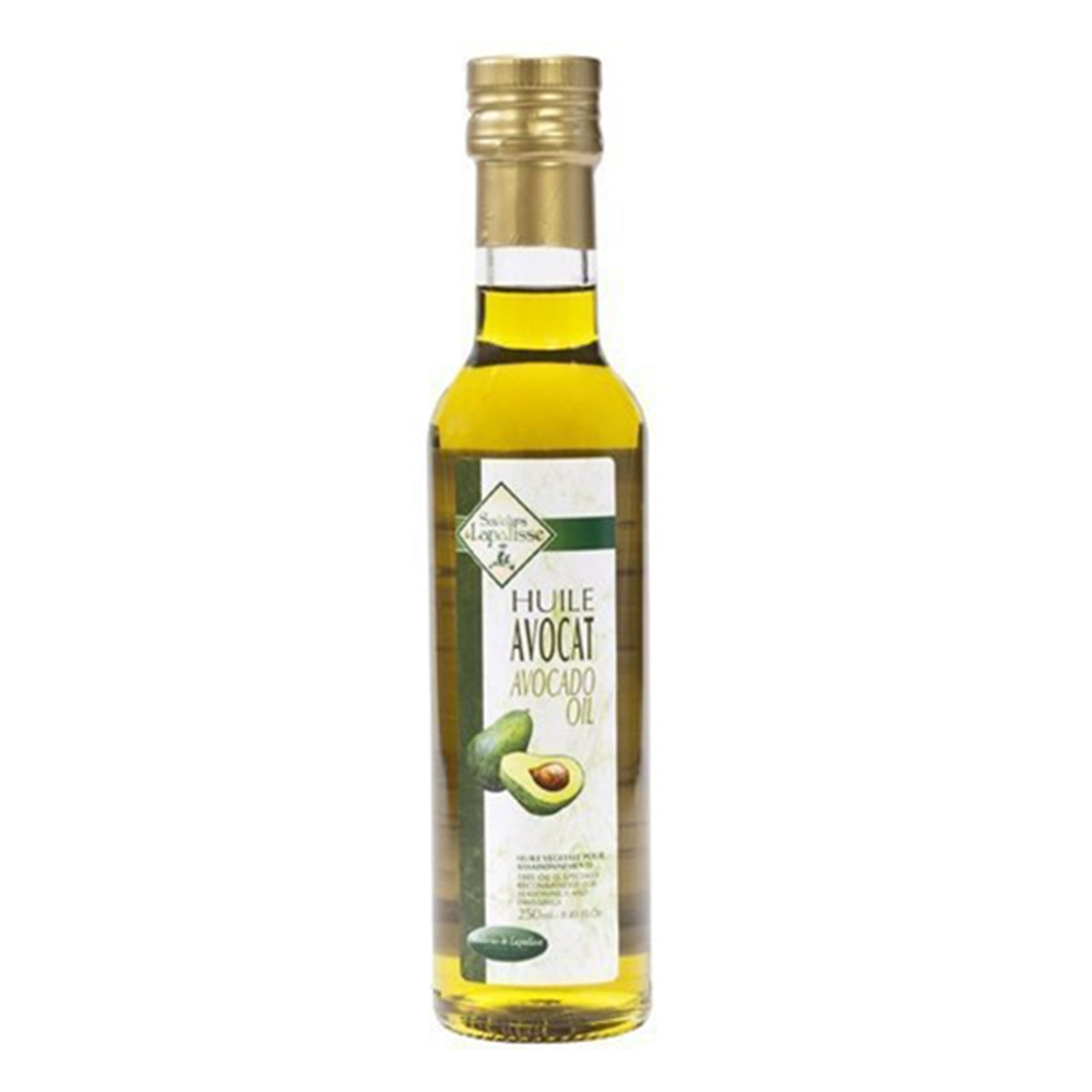 Buy Saveurs De Lapalisse Huile De Avocat (100% Pure Avocado Oil) - 250 ml