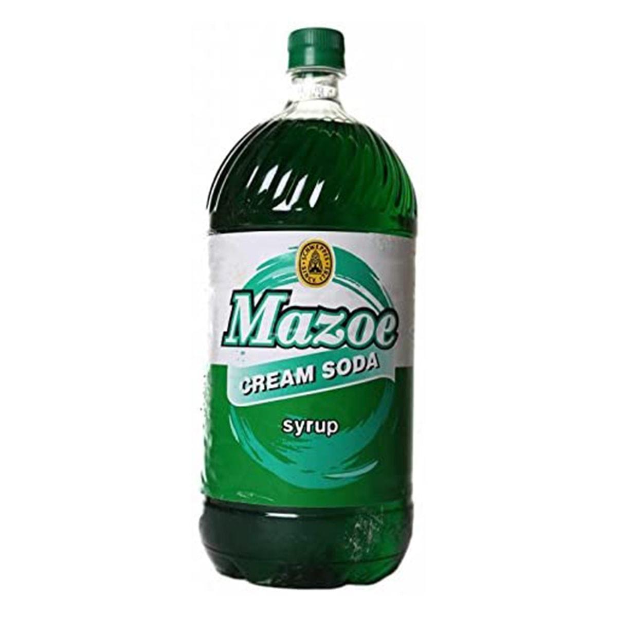 Buy Schweppes Zimbabwe Mazoe Cream Soda Syrup - 2 Litre