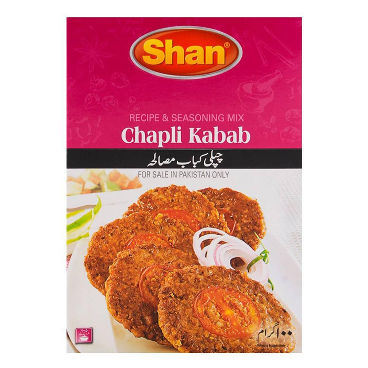 Buy Shan Chappli Kabab Mix - 100 gm