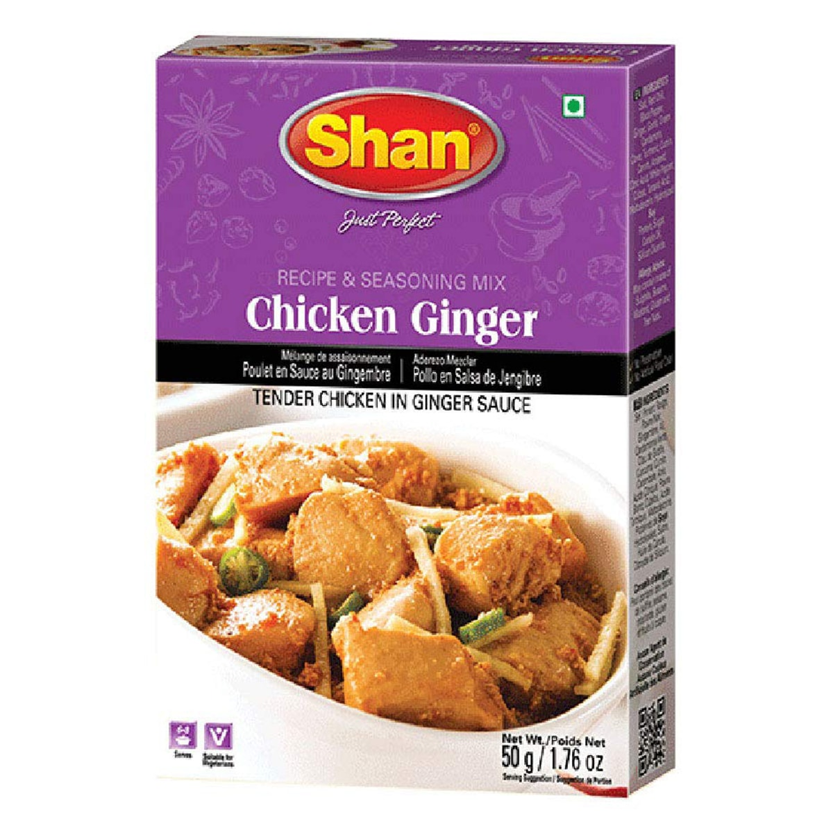 Buy Shan Chicken Ginger Mix - 50 gm