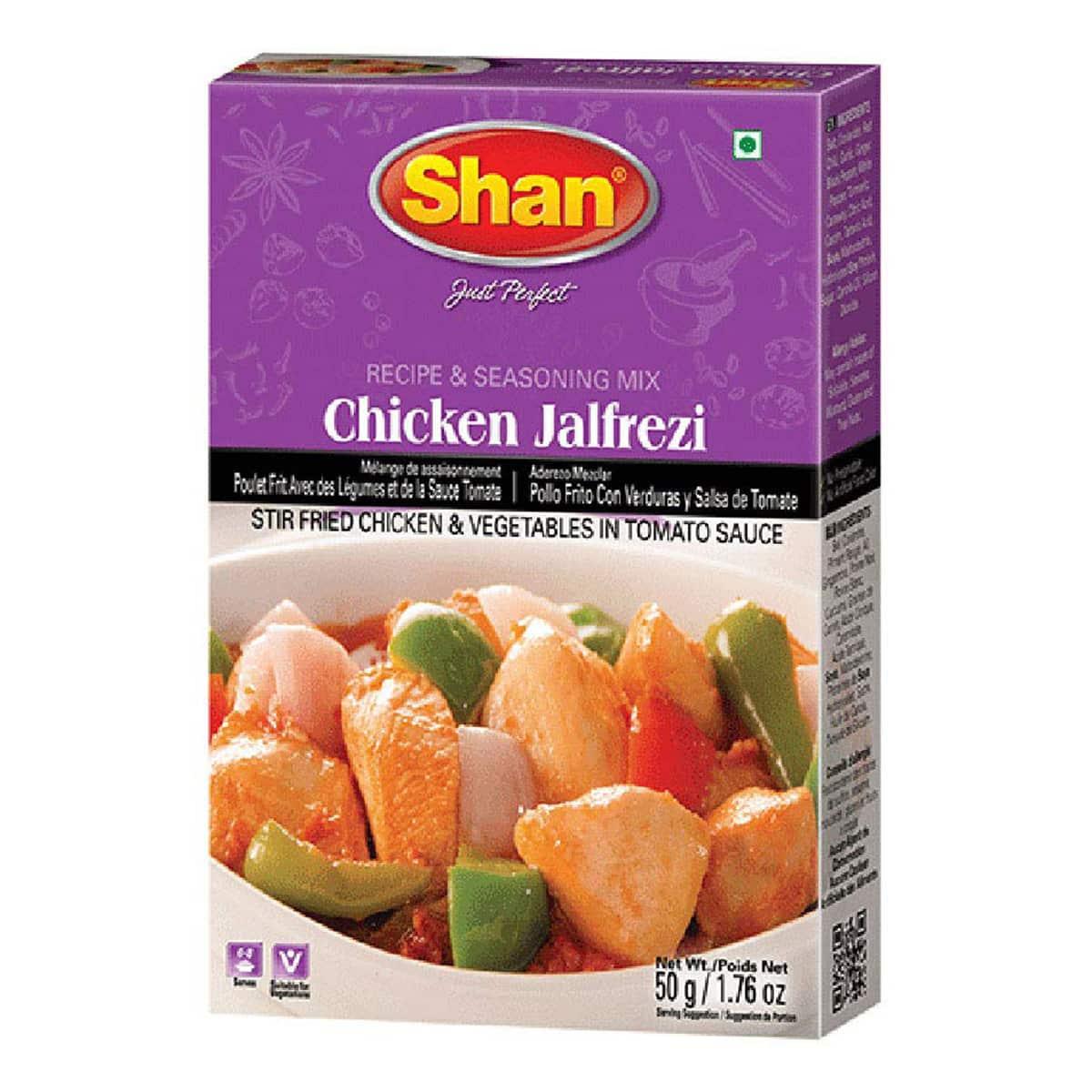 Buy Shan Chicken Jalfrezi Mix - 50 gm