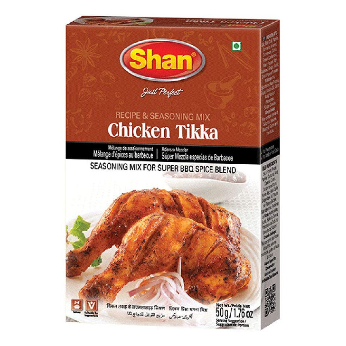 Buy Shan Chicken Tikka BBQ Mix - 50 gm