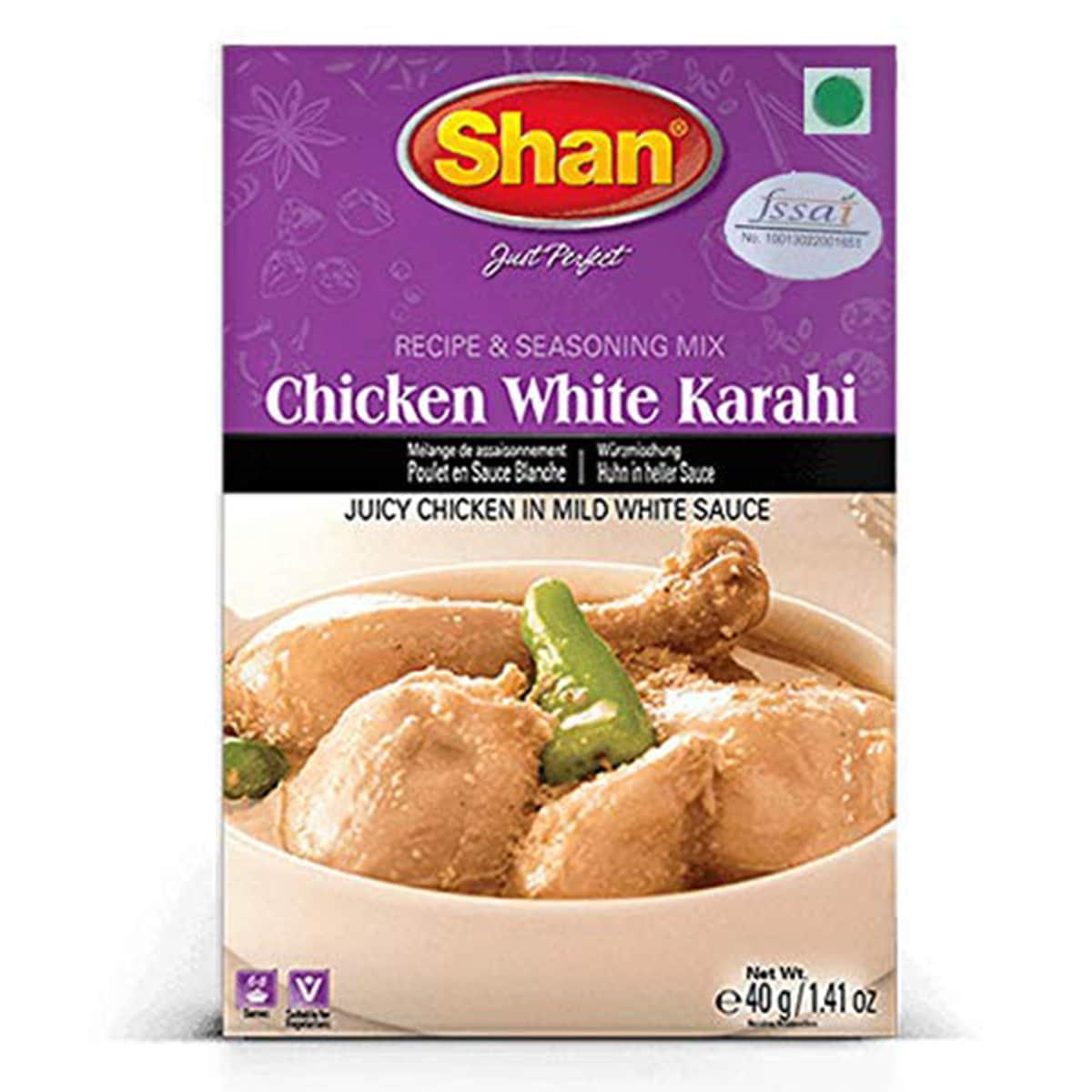 Buy Shan Chicken White Karahi - 40 gm