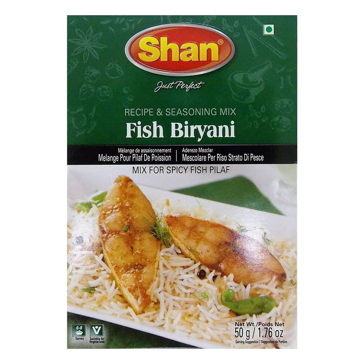 Buy Shan Fish Biryani Mix - 50 gm