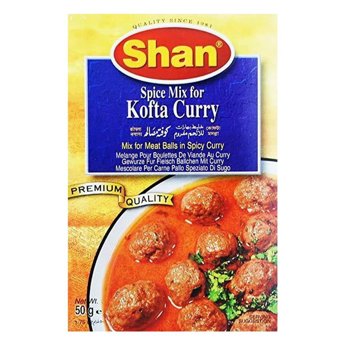 Buy Shan Kofta Curry Mix - 50 gm