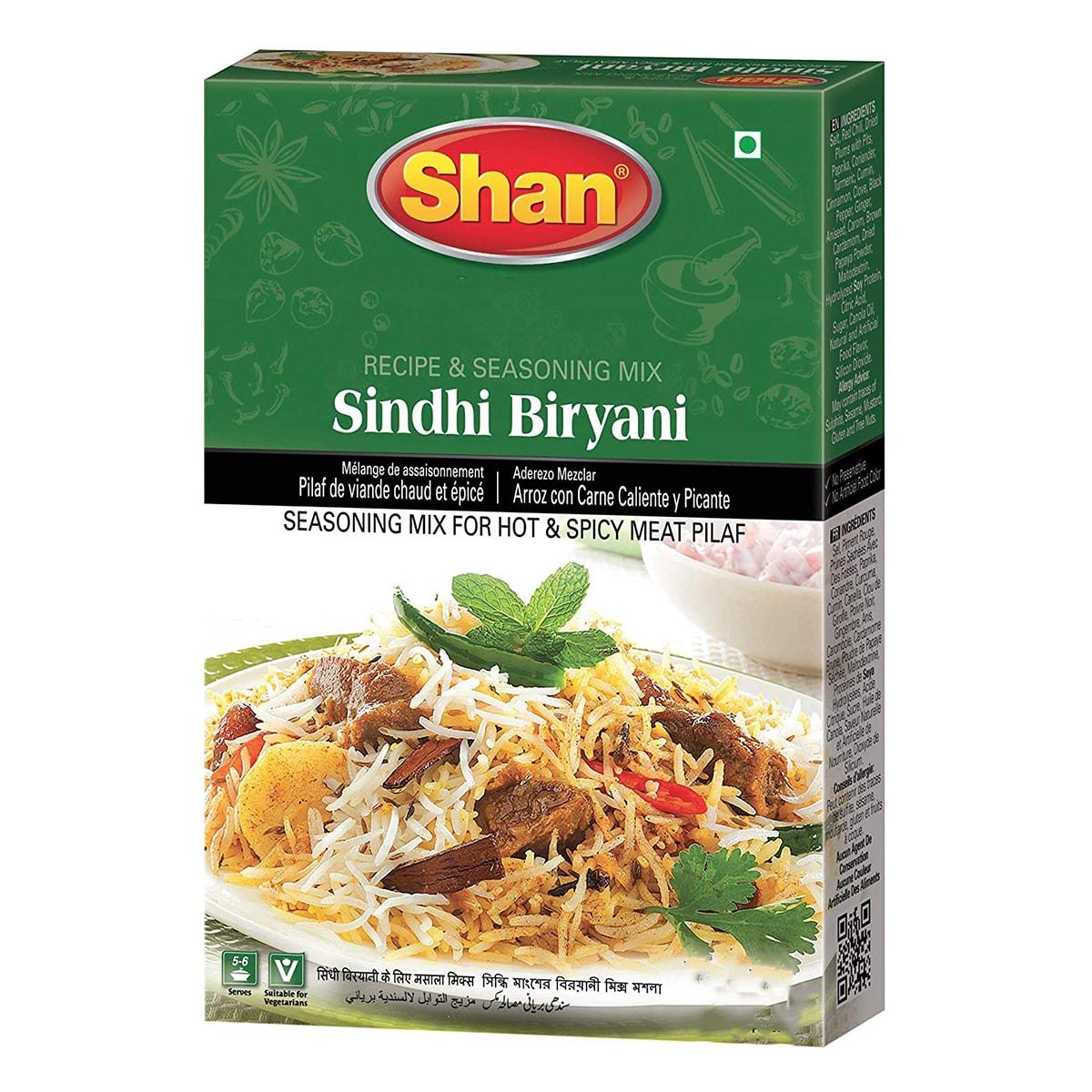 Buy Shan Masalaydar Sindhi Biryani Mix - 65 gm