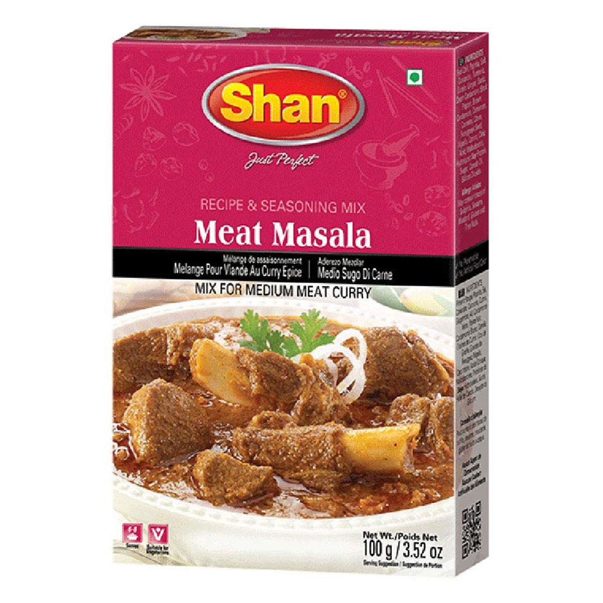 Buy Shan Meat Masala Mix - 100 gm
