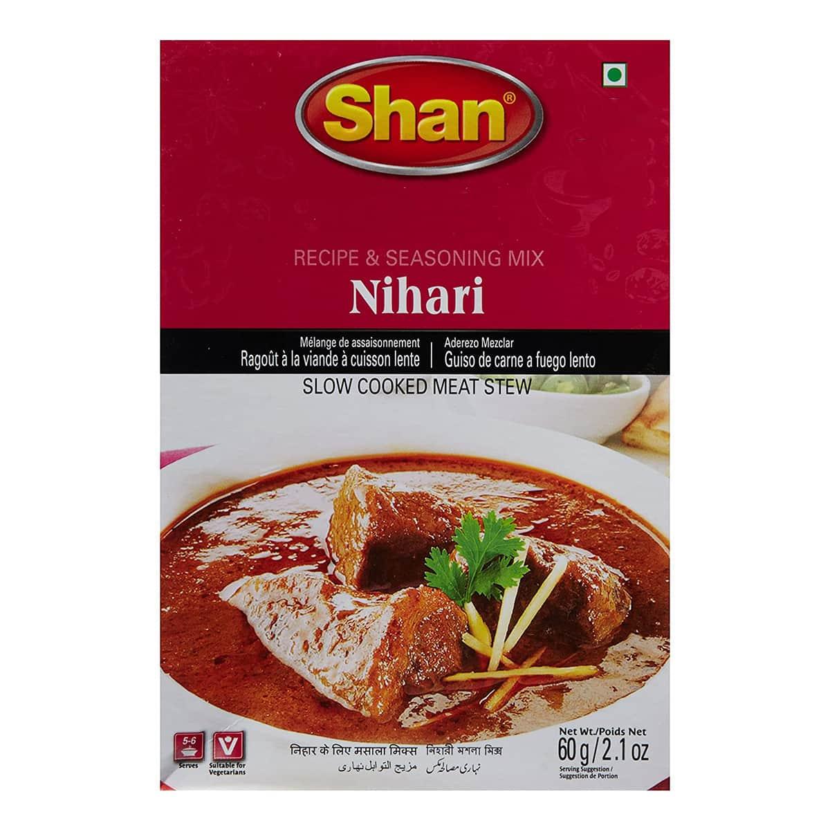 Buy Shan Nihari Curry Mix - 60 gm