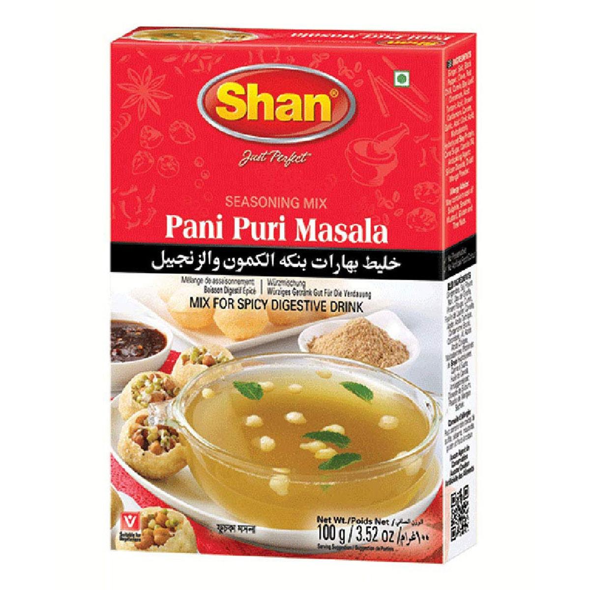 Buy Shan Pani Puri Masala Mix - 100 gm