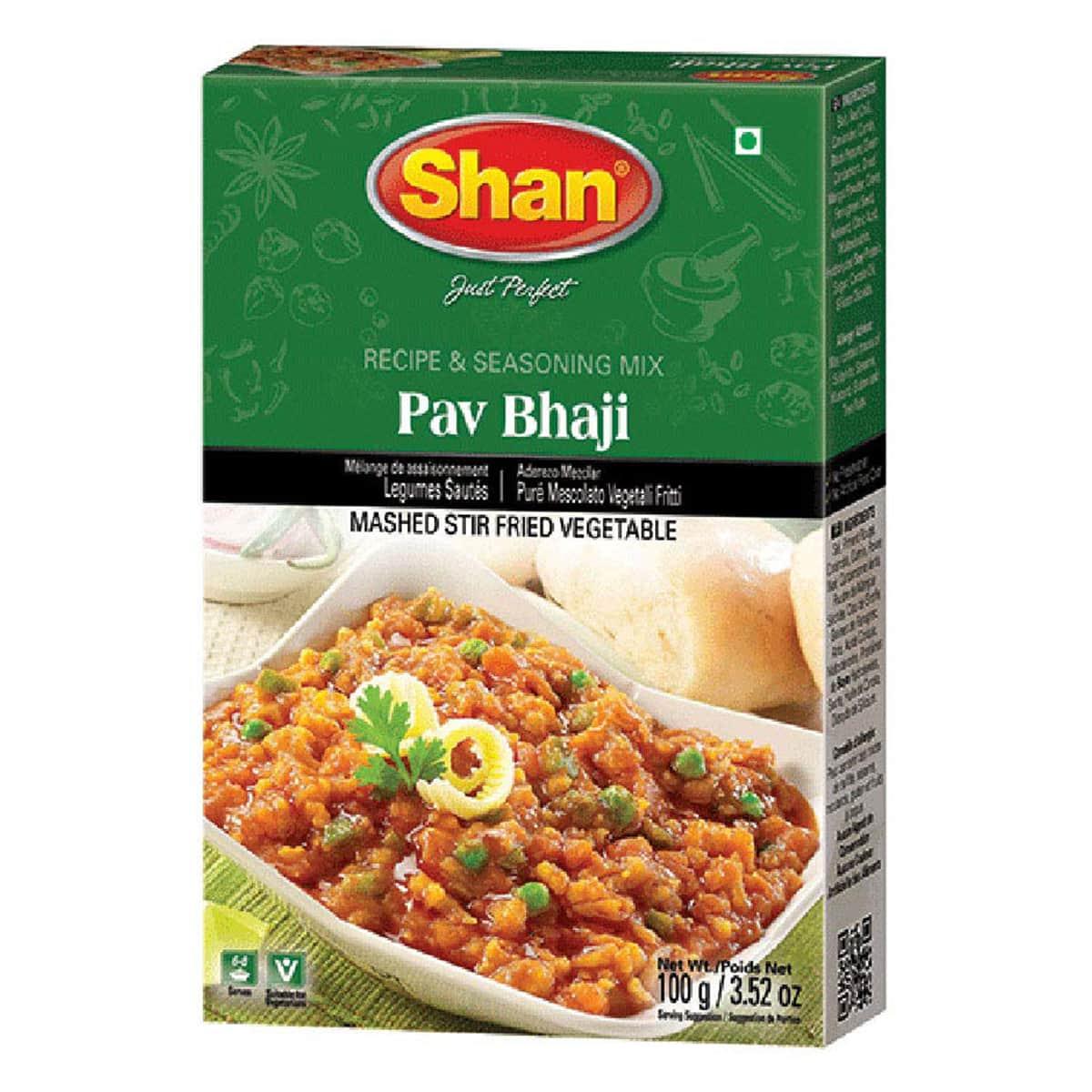 Buy Shan Pav Bhaji Mix - 100 gm