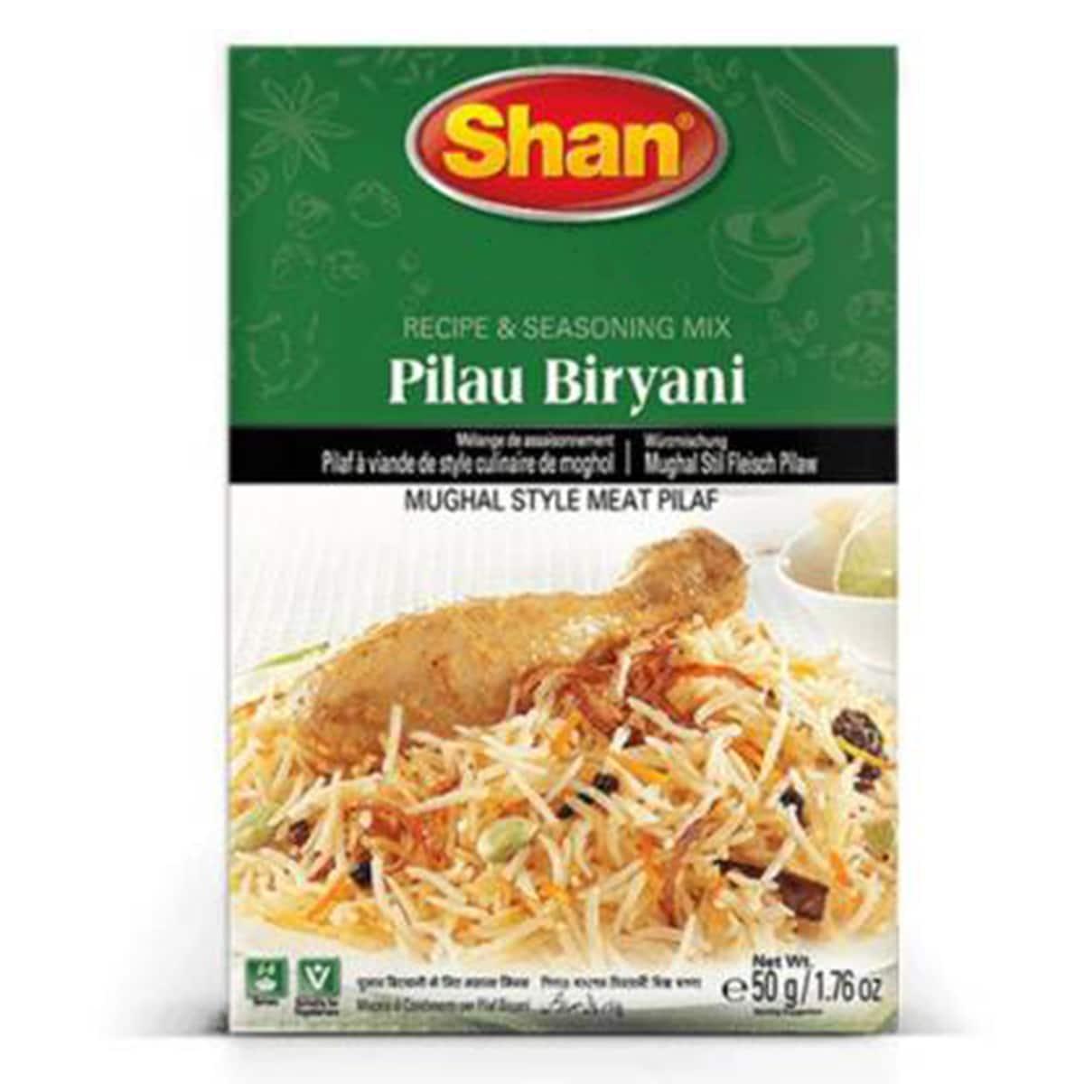 Buy Shan Pilau Biryani Mix - 50 gm