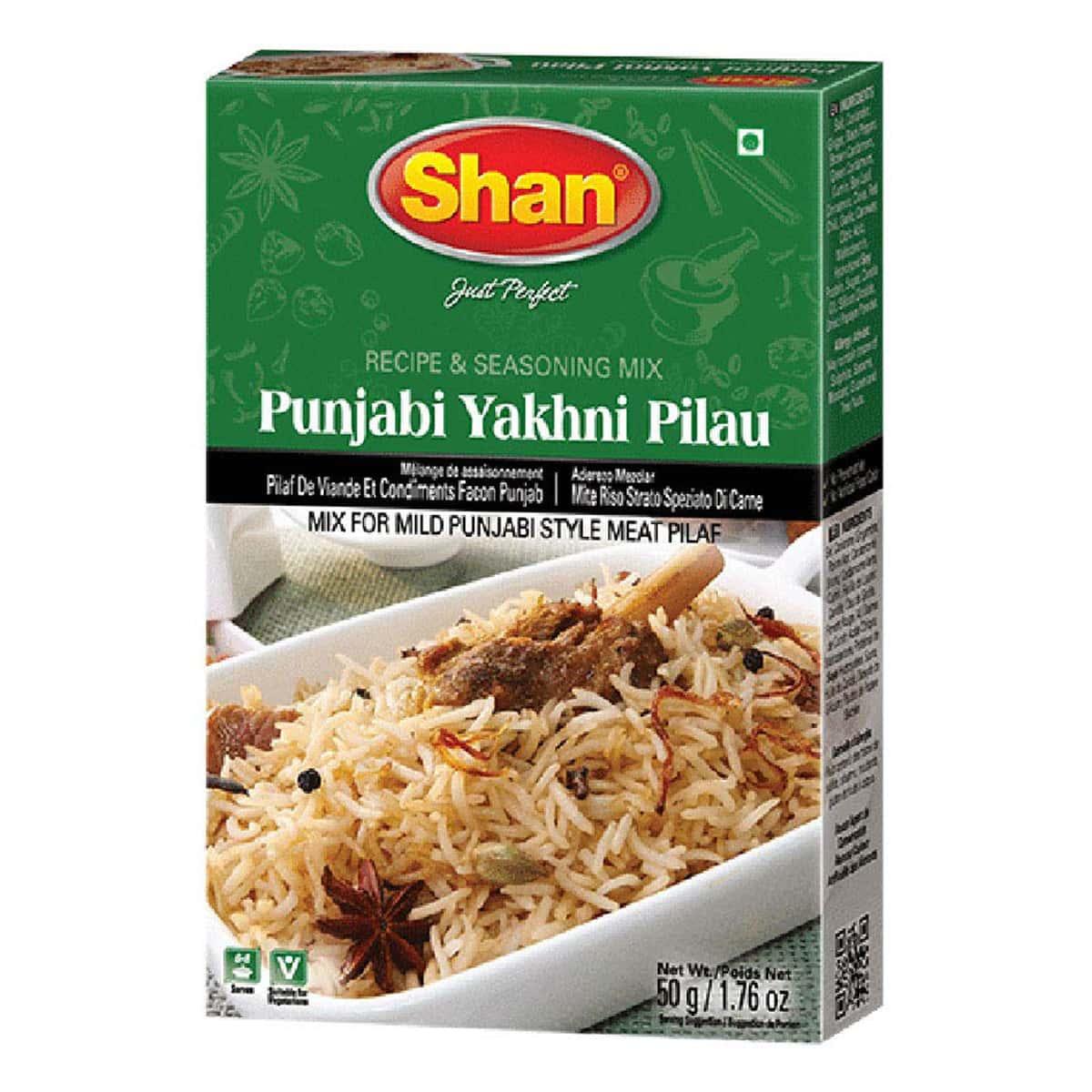 Buy Shan Punjabi Yakhni Pilau Mix - 50 gm