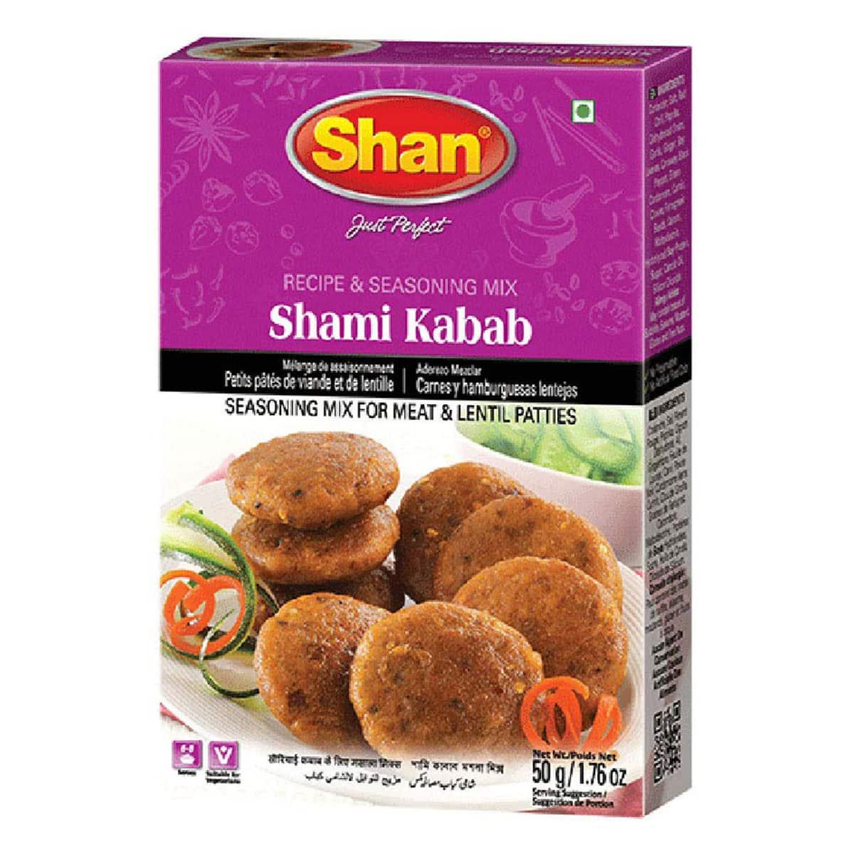 Buy Shan Shami Kabab Mix - 50 gm