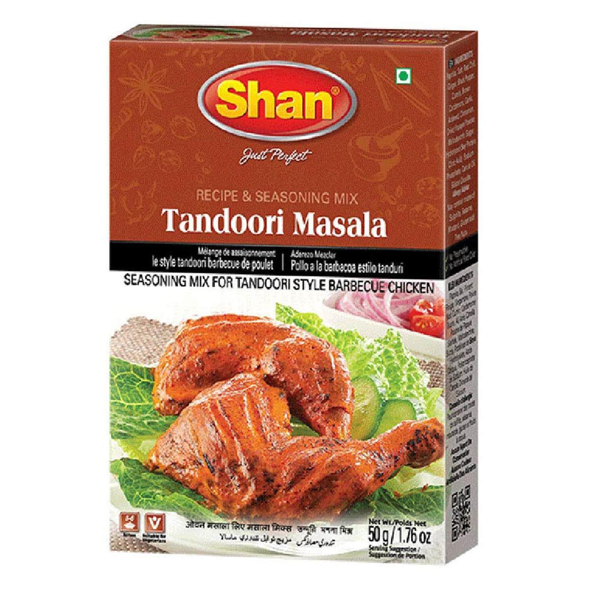 Buy Shan Tandoori Chicken Bbq Mix - 50 gm