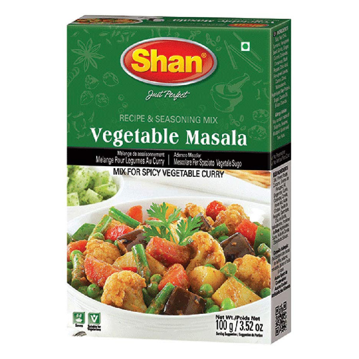 Buy Shan Vegetable Curry Mix - 100 gm