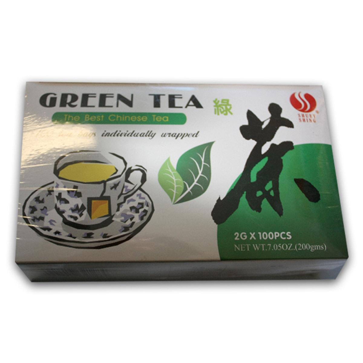 Buy Shuey Shing Green Tea (100 Teabags) - 200 gm