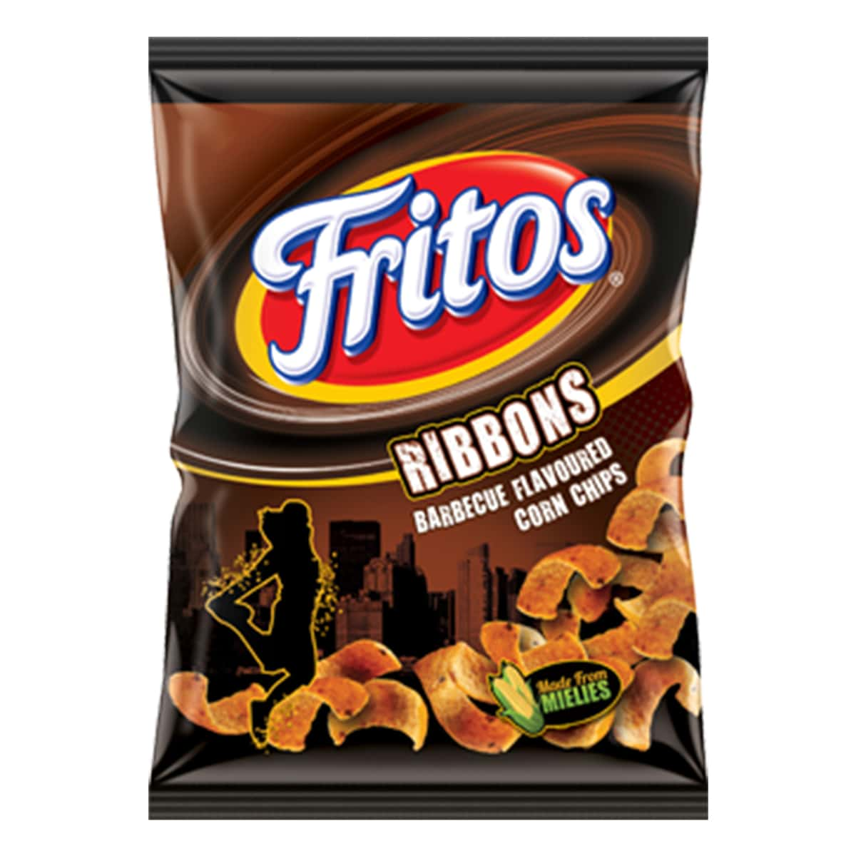 Buy Simba Fritos Ribbons Barbecue Flavoured Corn Chips - 120 gm