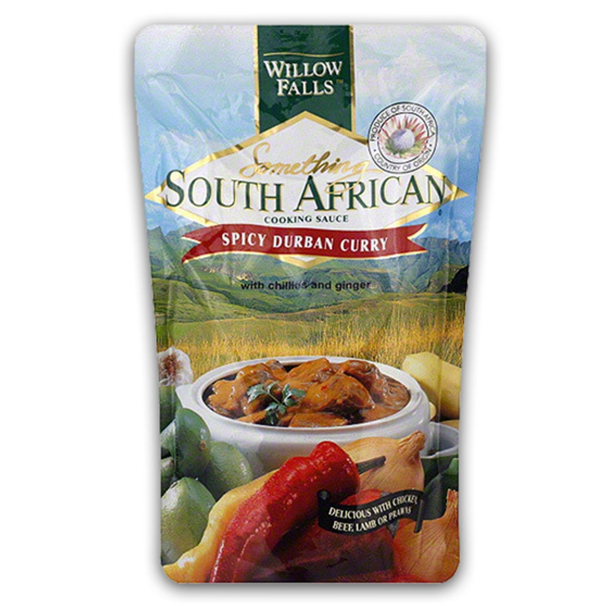 Buy Something South African Spicy Durban Curry Cooking Sauce - 400 gm