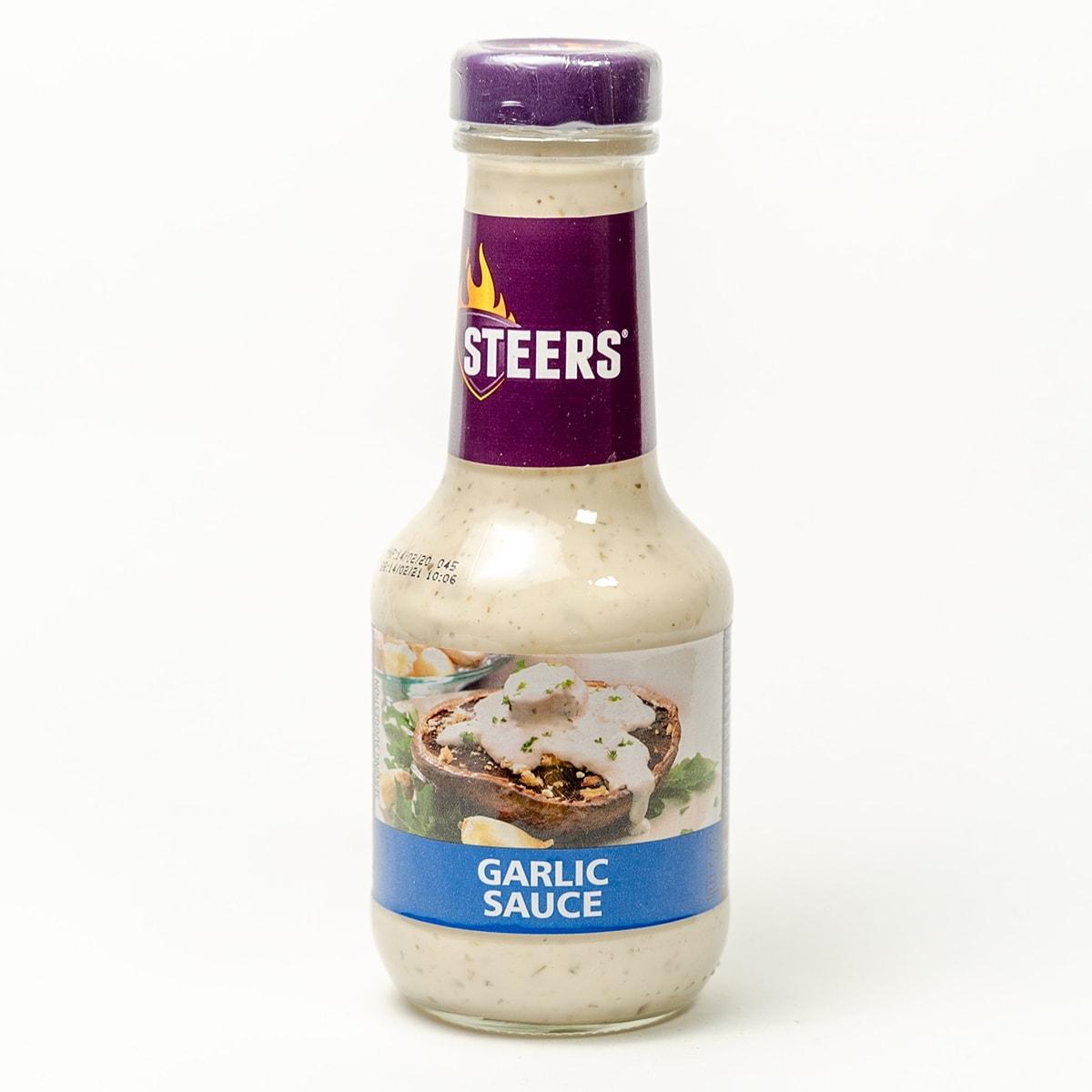 Buy Steers Garlic Sauce - 375 ml