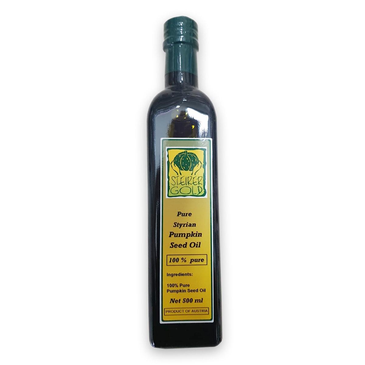 Pure Styrian Pumpkin Seed Oil - 500 ml