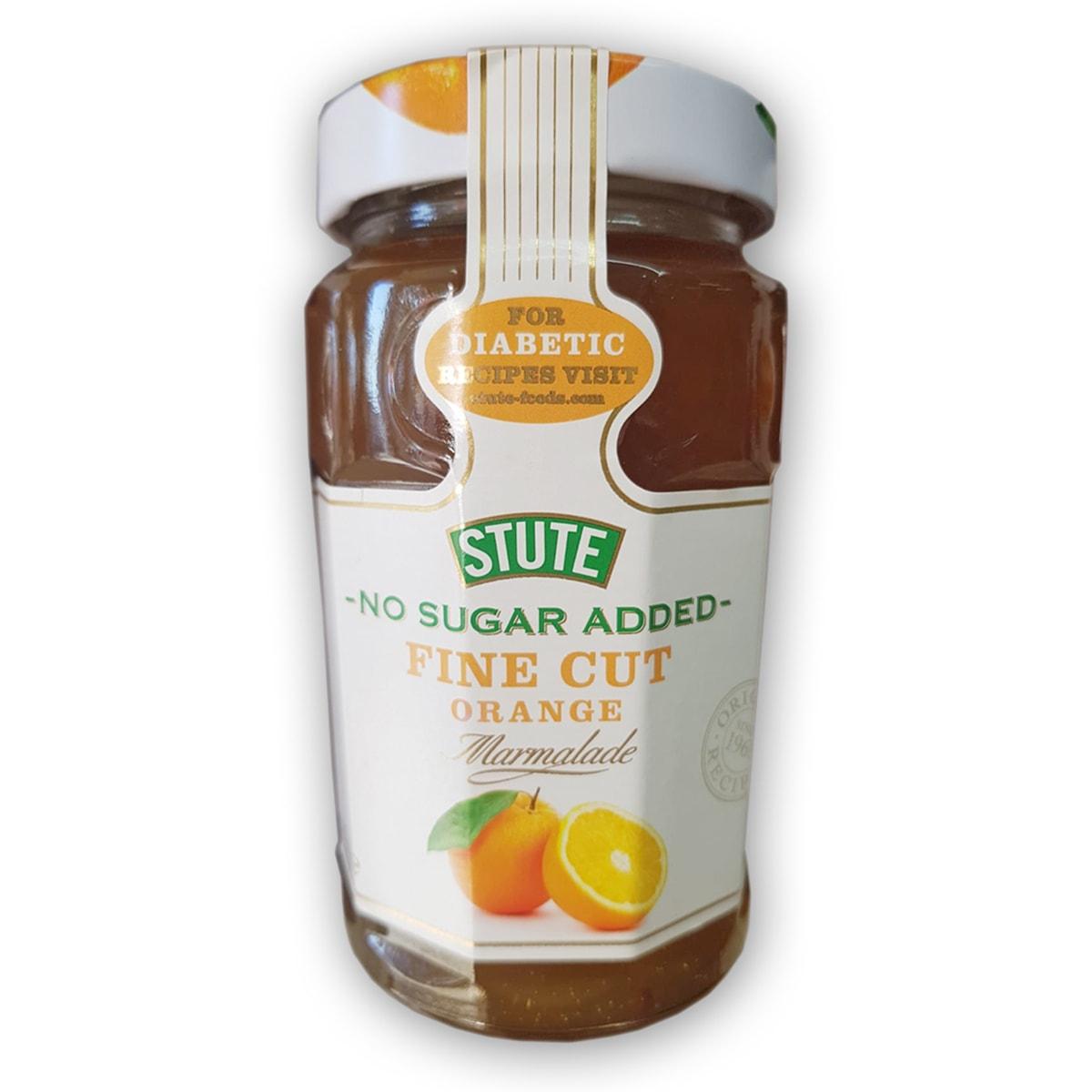 Buy Stute Diabetic Fine Cut Orange Extra Marmalade Jam (No Sugar Added) - 430 gm