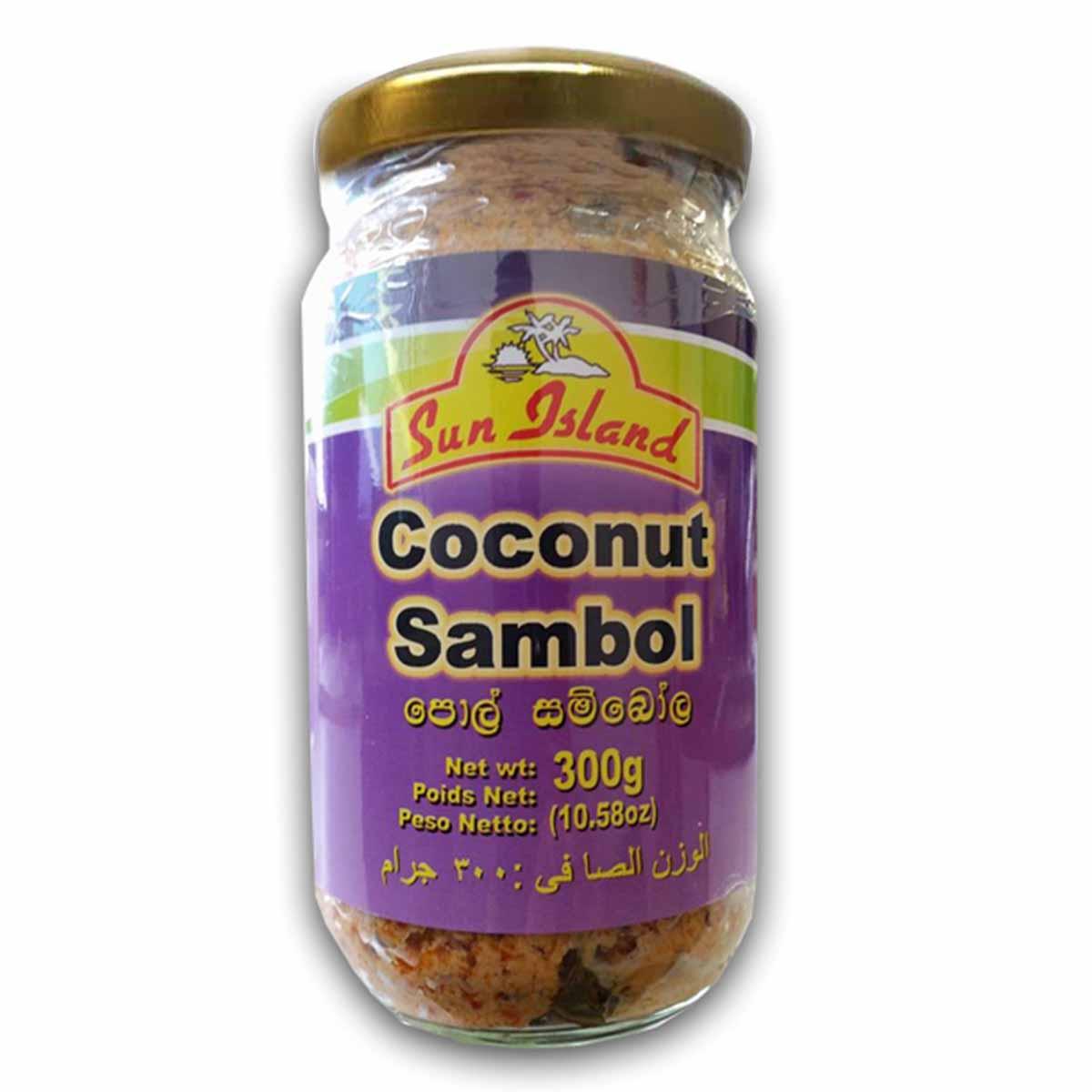 Buy Sun Island Coconut Sambol - 300 gm