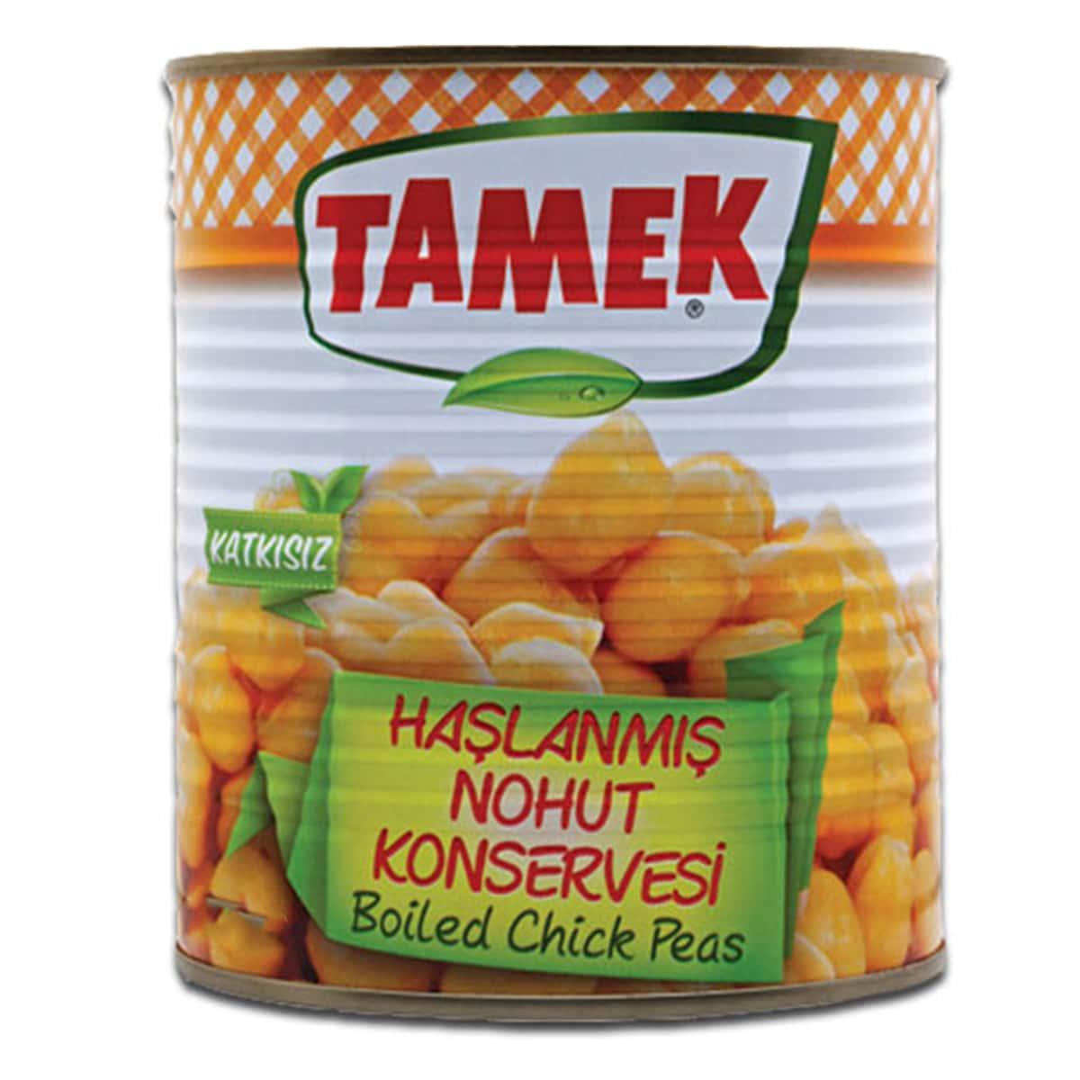 Buy Tamek Boiled Chick Peas (Haslanmis Nohut Konservesi) - 800 gm