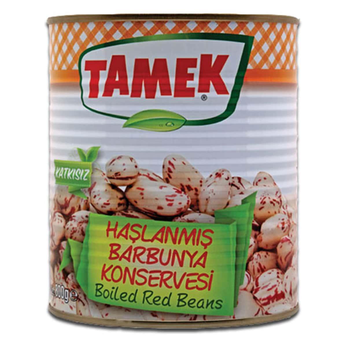 Buy Tamek Boiled Red Beans (Haslanmis Barbunya Konservesi) - 800 gm