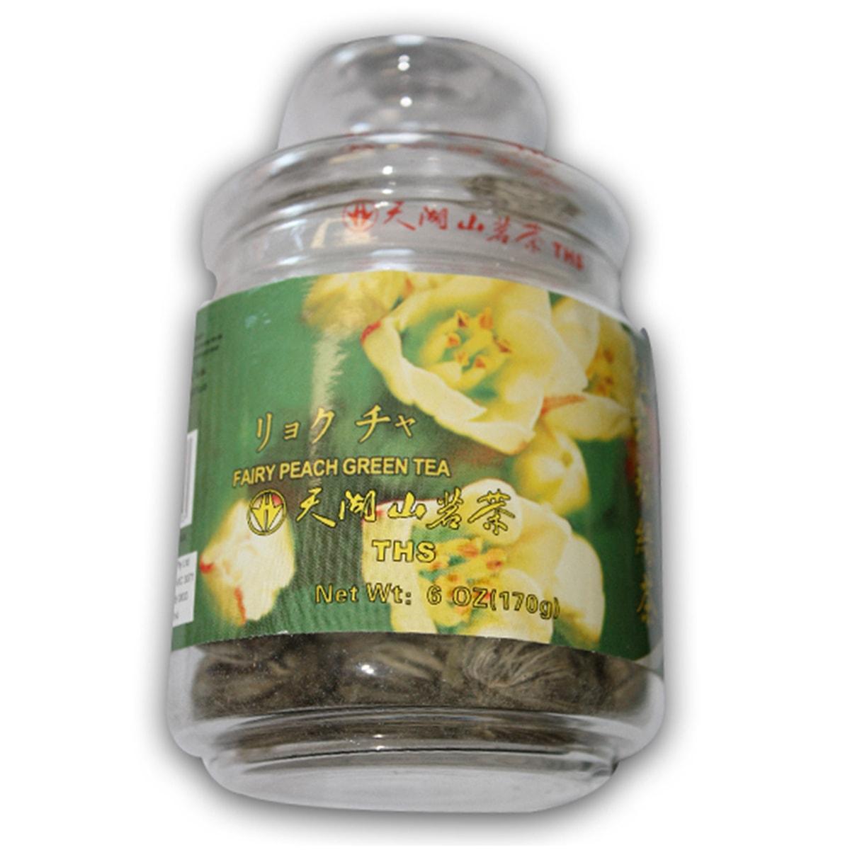 Buy Tian Hu Shan Fairy Peach Green Tea (Xiantao Ball Green Tea) - 170 gm