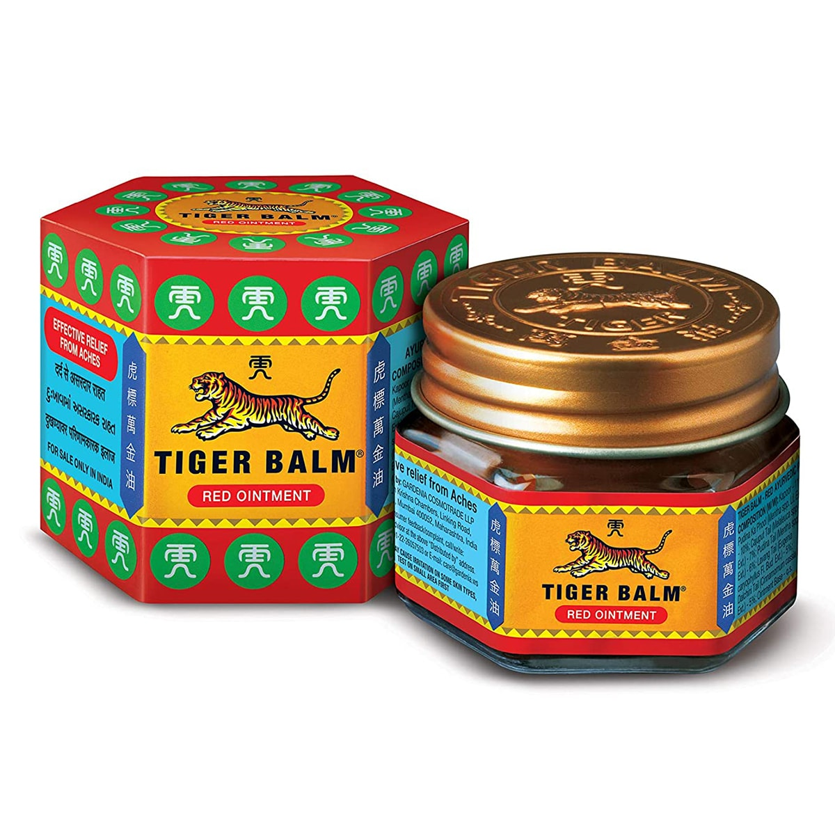 Buy Tiger Balm Red Ointment Classic - 19 gm