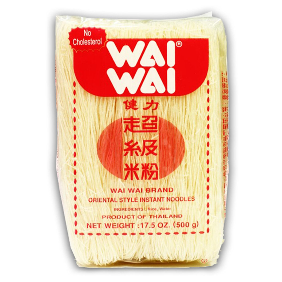 Buy Wai Wai Oriental Style Instant Noodles (Vermicelli Rice) - 500 gm
