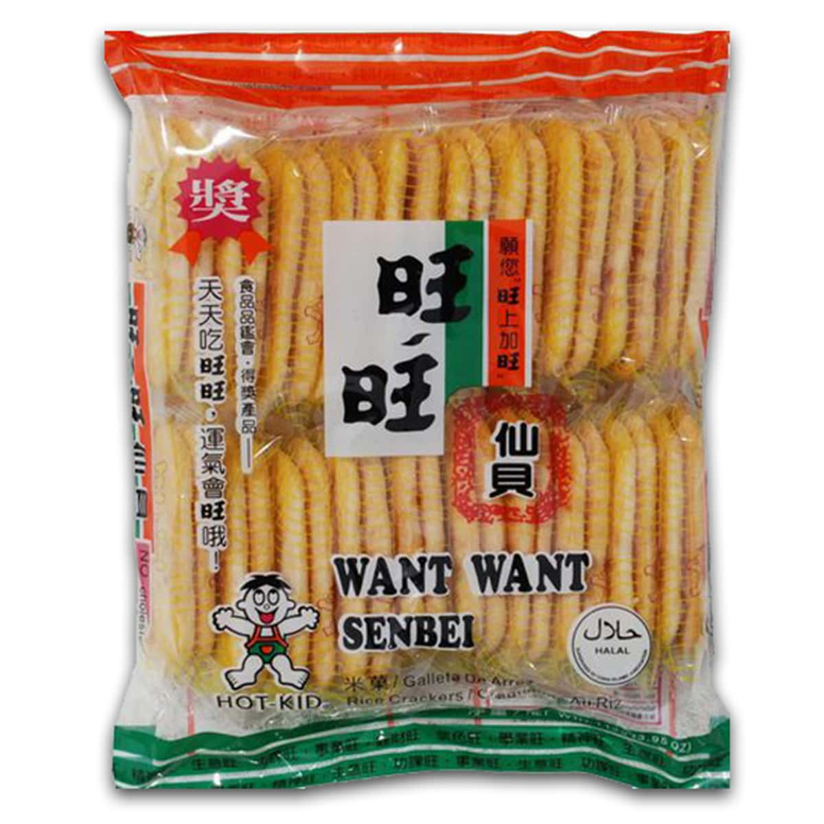 Buy Want Want Hot-kid Senbei Rice Crackers - 112 gm